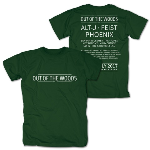 √Logo von Out Of The Woods - T-Shirt jetzt im My Festival Shop Shop