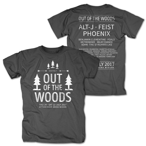 √In The Trees von Out Of The Woods - T-Shirt jetzt im My Festival Shop Shop