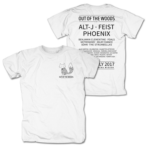 √Pocket Fox von Out Of The Woods - T-Shirt jetzt im My Festival Shop Shop