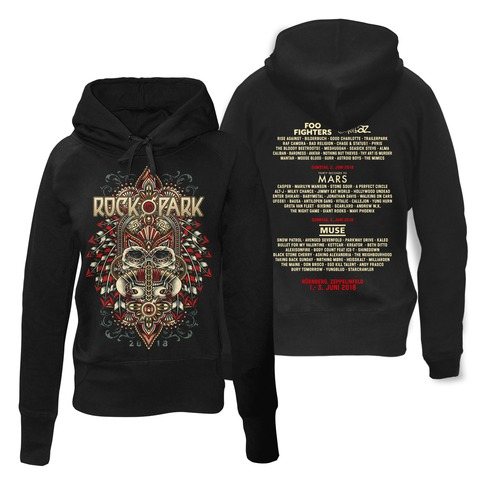 √Rock Headdress von Rock im Park Festival - Girlie hooded sweater jetzt im My Festival Shop Shop