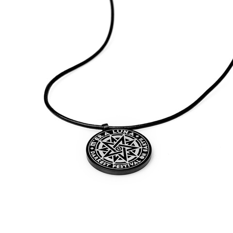 √The Darkest Festival on Earth von Mera Luna Festival - Pendant with leather band jetzt im My Festival Shop Shop