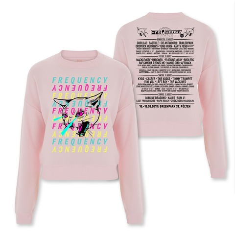 Color Kitten von Frequency Festival - Girlie Sweater jetzt im My Festival Shop Shop