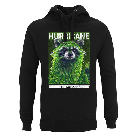 √Early Racoon von Hurricane Festival - Hood sweater jetzt im My Festival Shop Shop