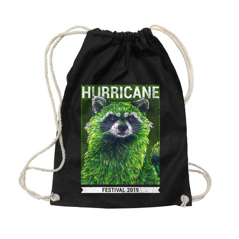 √Early Racoon von Hurricane Festival - Sports bag jetzt im My Festival Shop Shop