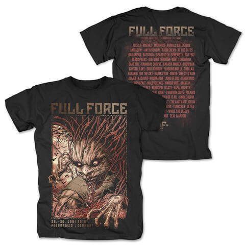 √Creature Of Force von Full Force Festival - T-Shirt jetzt im My Festival Shop Shop