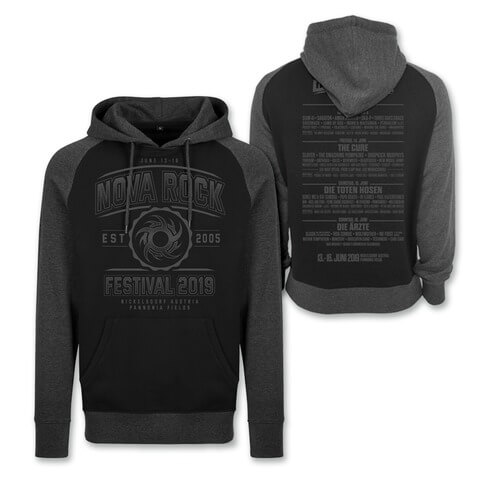 √Go With The Flow von Nova Rock Festival - Hood sweater jetzt im My Festival Shop Shop