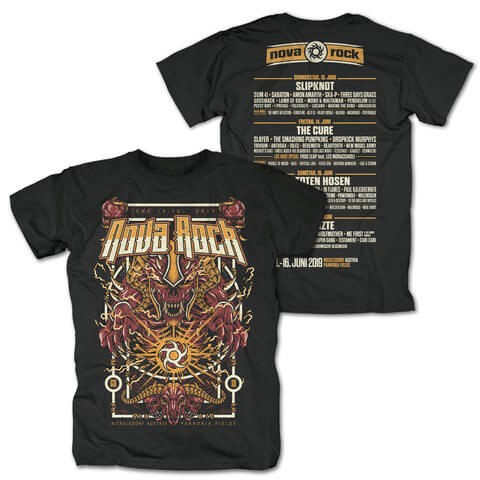 √My God is The Sun von Nova Rock Festival - T-Shirt jetzt im My Festival Shop Shop