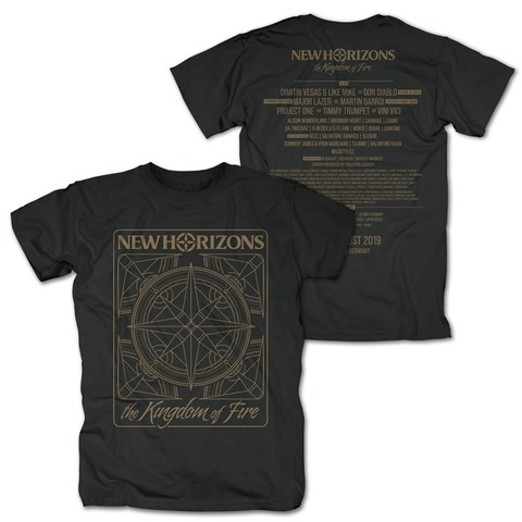 √Kingdom of Fire Line Up von New Horizons - T-Shirt jetzt im My Festival Shop Shop