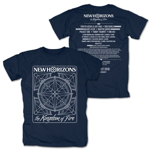 Kingdom of Fire Line Up von New Horizons - T-Shirt jetzt im My Festival Shop Shop