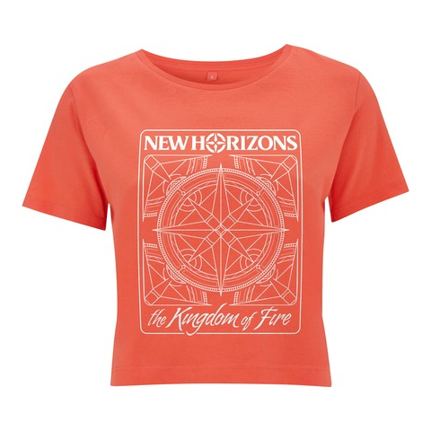 Kingdom of Fire Logo von New Horizons - Crop Top jetzt im My Festival Shop Shop