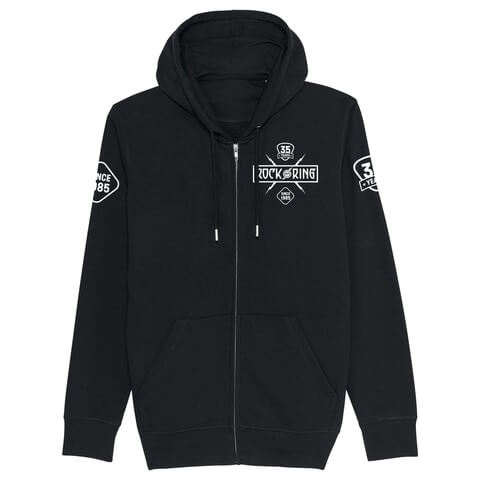 √35 Years - Today Tomorrow Forever von Rock am Ring Festival - Hooded jacket jetzt im My Festival Shop Shop