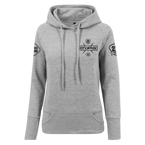 √25 Years - Today Tomorrow Forever von Rock im Park Festival - Girlie hooded sweater jetzt im My Festival Shop Shop