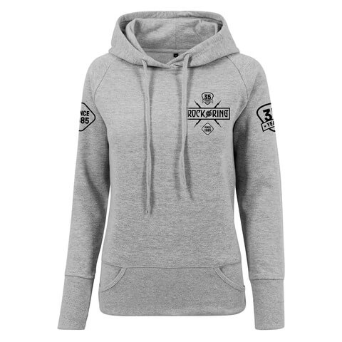 √35 Years - Today Tomorrow Forever von Rock am Ring Festival - Girlie hooded sweater jetzt im My Festival Shop Shop
